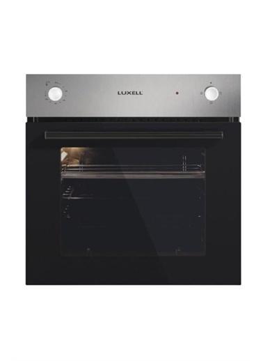 Luxell Luxell İnox 3 Prg Project Ankastre Set ( Termostatlı Fırın ) Gri